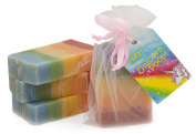 Unicorn Poop Soap : a magical, sparkly, sweet-smelling treat for the unicorn-lover in your life