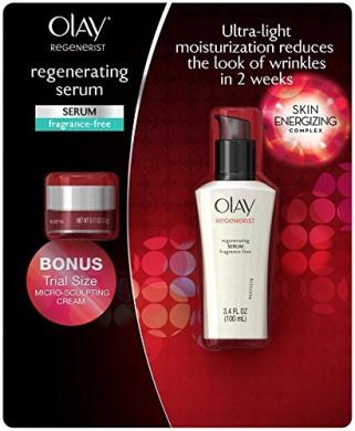 Olay Regenerist Fragrance Free Serum (100ml) + Bonus Micro Sculpting Cream (15ml)