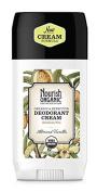 Nourish Organic Cream Deodorant, Almond Vanilla, 60ml by Nourish Organic