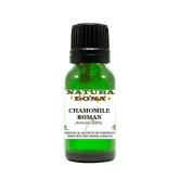 Natura Bona Therapeutic Grade Chamomile Roman Essential Oil Prediluted in Organic Jojoba Oil; 10ml