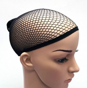 Beauties Factory 2 PCS Black Elastic Wig Cap Stocking Control Hair Under Wig CODE