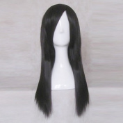 Madness Returns Alice Black 60cm Long Straight Cosplay Party Costume Wig