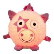 Vivid Imaginations Oodlebrites Light-Up Unicorn Plush Toy