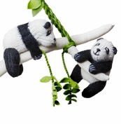 Panda Crib Mobile - Baby Toy Panda Nursery Decoration