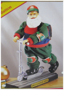 Trim A Home Scooter Santa- Musical and Animated