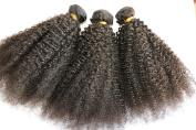 7A Unprocessed Virgin Hair Brazilian Afro Kinky Curly Hair Weave 3 Bundles Karizma Hair Human Hair Extension 20cm - 70cm bebe curl No Shedding