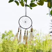 New Dream Catcher Handmade Indian Traditional Net With feathers Wall Hanging Decorations Craft Gift for Wall Car Decoration Best Gift