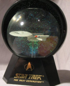 Star Trek U.S.S. Enterprise NCC 1701-D Lighted Musical Star Globe