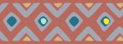 Plage 195018 Borders, Acrylic, Orange 300 x 0.2 x 10 cm