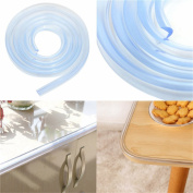 1M 100cm Silica Gel Soft Foam Table Desk Edge Corner Guard, Furniture Edge Safety Cover,Anti-crash Security Furniture Cushion, Transparent Bumper Protector Safety Security for Toddler Baby Kid
