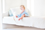 "Wonder Baby Saddle Style Children's Soaker Waterproof Mattress Pad & Sheet Protector – Soft, Comfortable, Lightweight Bedding - Absorbs 6 Cups – 34"" x 36"" for Twin Beds"