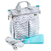 LIMITED LAUNCH PROMO - Nappy Bag by Liname – Premium Quality . Nappy Bag With Changing Pad & Adjustable Shoulder Strap Included