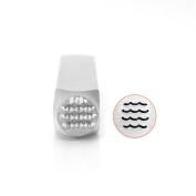 ImpressArt- Waves Metal Stamp, 6mm