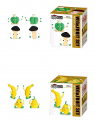 Fruits & Vegetables Air-Dry Clay Set of 2 Individual Sets Included with Detailed Step-By-Step Instructions