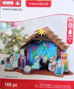 Christmas Nativity Jesus Craft 3D Foam Kit 169 Pieces
