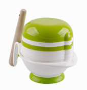 Practical Baby Food Grinding Bowl Grinder PP Food Mill for Making Baby Food