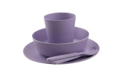 BoBo and Boo Bamboo 5 Piece Dinner Set - Lilac