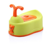 Cute Baby Potty Toilet Training Seat For Children Non-slip Chair Soft Secure Boys Girls Child - Green