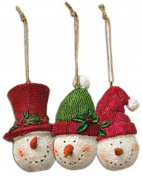 Resin Snowhead Ornament, Assorted