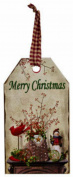 Merry Christmas Tag Ornament