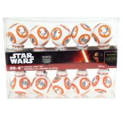 BB8 Star Wars Plastic Ornament String Light Set, 10 LED