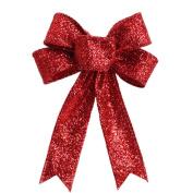 Leoy88 Christmas Tree Ornament Bowknot Pendant Festival Supplies