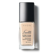 AVON IDEAL FLAWLESS INVISIBLE LIQUID FOUNDATION - SHELL