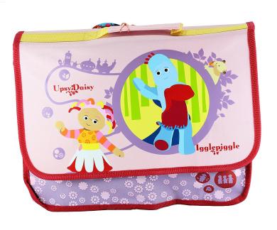 In the Night Garden Iggle Piggle, Upsy Daisy & Makka Pakka Pink Junior Rucksack Book Bag