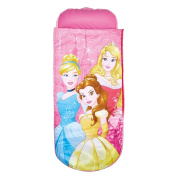 ReadyBed Disney Princess Airbed and Sleeping Bag in One, Fabric, Pink
