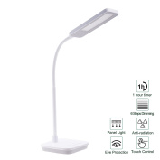 CO-Z Premium Dimmable Panel LED Lamp Table Desk Reading Light with Touch Control & 6 Brightness Adjustments