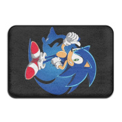 Sonic The Hedgehog Cosy Area Rugs Pads Unique Collection 41cm x 60cm