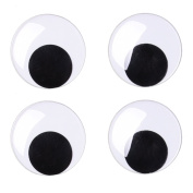 Sunmns 7.6cm Giant Wiggle Googly Eyes with Self Adhesive, 4 Pack
