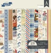 Authentique Paper EXP017 Explore 30cm x 30cm Paper Pad