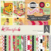 Authentique Paper CFL016 Cheerful Collection Kit