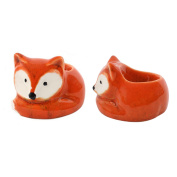 Egg Cups Cute Fox Egg Cups Pack Of Two