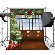 Sunny Star 3m X 3m/300X300cm Christmas Tree Indoor Thin Vinyl Photography Backdrop Customised Photo Background Studio Prop 9439