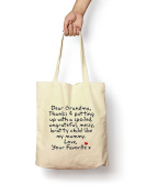 Dear Grandma... From Your Favourite - Canvas Tote Bag