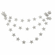 GOOTRADES 4m Star Shaped String Paper Garland Hanging Decoration for Party
