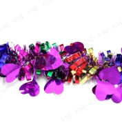UNI -- Pink Hearts & Multicolor Ribbons (Garland)-- Special Ocassion Decor