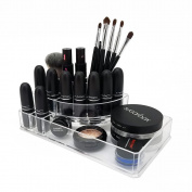 OnDisplay Michelle Deluxe Acrylic Cosmetic/Jewellery Organisation Tray - Clear