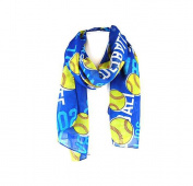 J & C Family Owned Softball Theme Fashion Scarf Colour