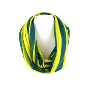 J & C Family Owned Jersey Stripes Theme Infiniti Scarf Colour