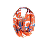J & C Family Owned Horses And Horse Shoe Theme Fashion Scarf Colour