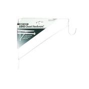 Lido Shelf/Hang Rod Bracket White-Mfg# LB-26-8150A - Sold As 7 Units