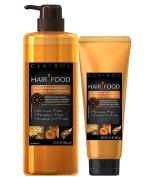 Clairol Hair Food Moisture Shampoo & Moisture Hair Mask Set Infused With Honey Apricot Fragrance