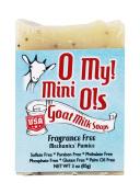 O My! Fragrance Free Mechanics' Pumice Mini O! Soap - 90ml