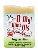 O My! Fragrance Free Goat Milk Mini O! Soap - 90ml