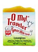 O My! Lemongrass Goat Milk Traveller Soaps