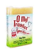 O My! Bay Rum Goat Milk Traveller Soaps