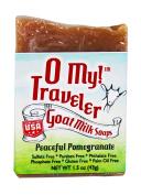 O My! Peaceful Pomegranate Goat Milk Traveller Soaps